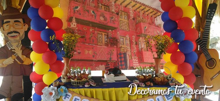 banner fiesta colombiana