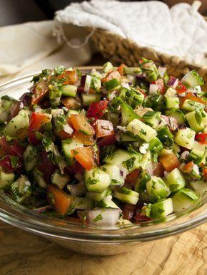 Israelischer Salat | Foodina