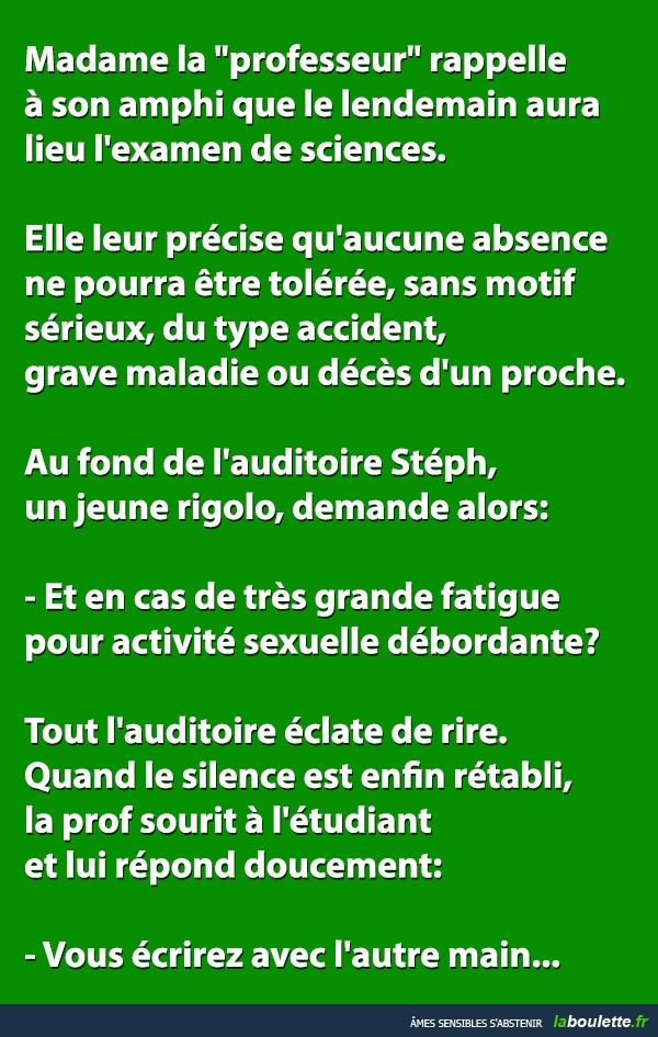 Rire :)