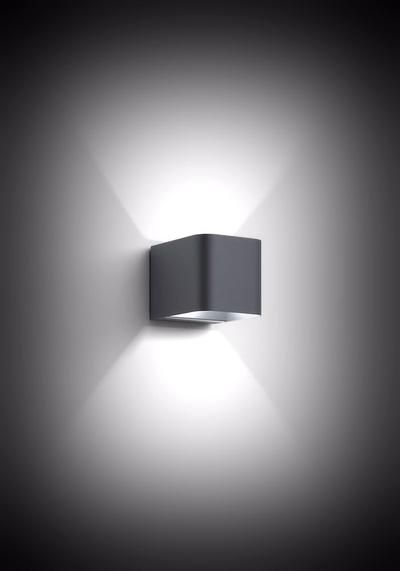 PRECISION ARCHITECTURAL EXTERIOR WALL LIGHTING. The Intro LED wall light is a beautiful simplistic design. It is a truly appealing cube design with rounded edges and is fitted with state-of-the-art LED technology. #TheLightYard #OutdoorPillarLights #GardenLighting
