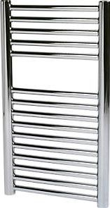 Kudox O Profile Towel Rail Chrome 700 x 400mm 638Btu. 187W. Steel construction with a high quality chrome-plated finish. Supplied with wall brackets, bleed plugs and fixings. http://www.comparestoreprices.co.uk/january-2017-9/kudox-o-profile-towel-rail-chrome-700-x-400mm.asp
