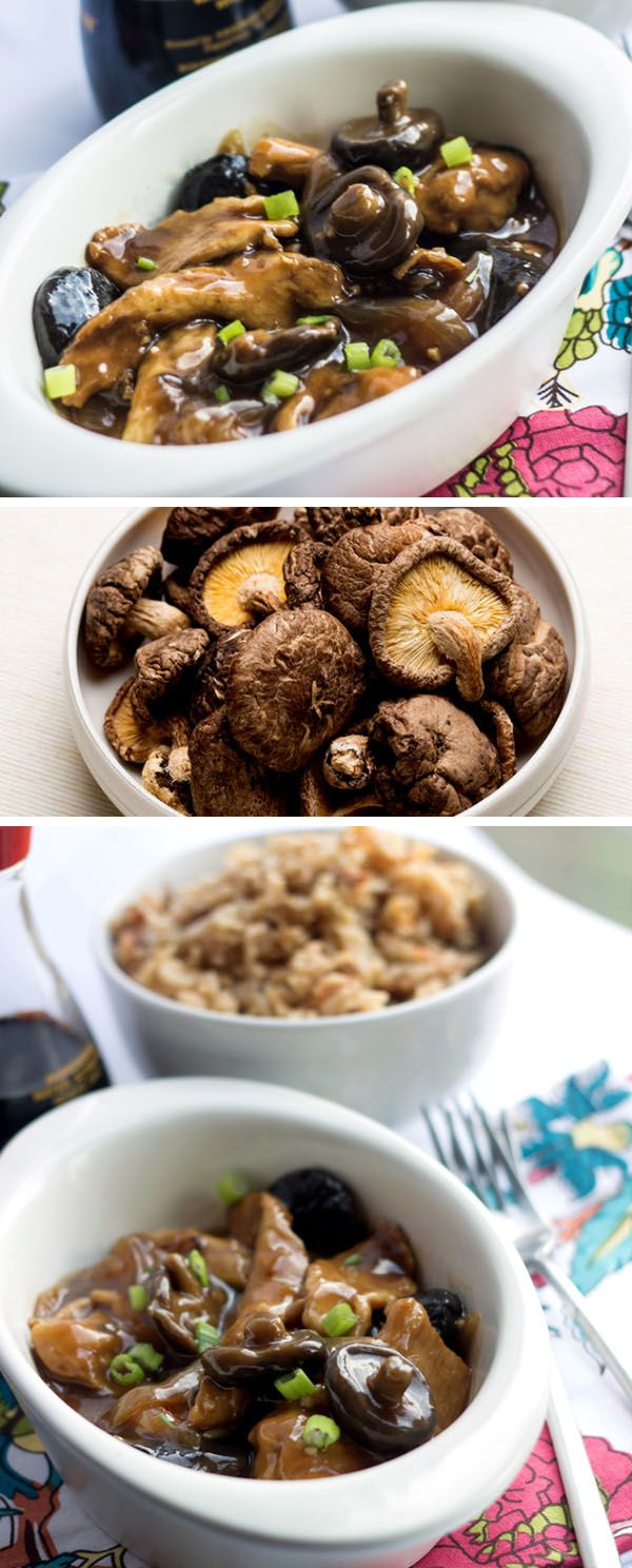 This recipe for Chicken with Chinese Mushrooms is so good and so authentic, your guests will think it came from a Chinese restaurant! via @Erren's Kitchen