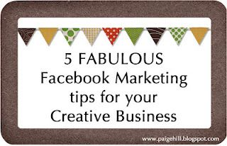 Five great marketing tips for your creative business