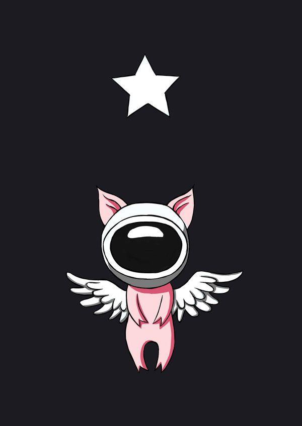 Flying Pig In Space