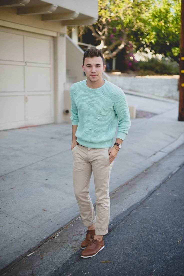 American Apparel Mint Sweater M O D M E N Pinterest Homme D Contract Hommes Et Style Homme