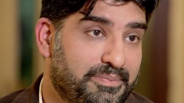 """""""I'm not your enemy. I'm your biggest ally"""" says Bilal Rana, a doctor and Houston police volunteer."""