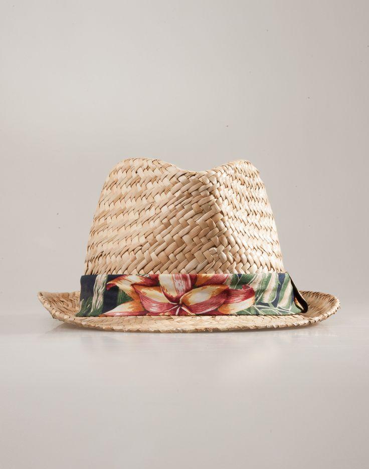 complementos sombrero borsalino cinta fantasia | natura
