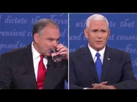FULL 2016 VP DEBATE: Mike Pence vs Tim Kaine - Vice Presidential Debate 2016, Longwood University HD - YouTube