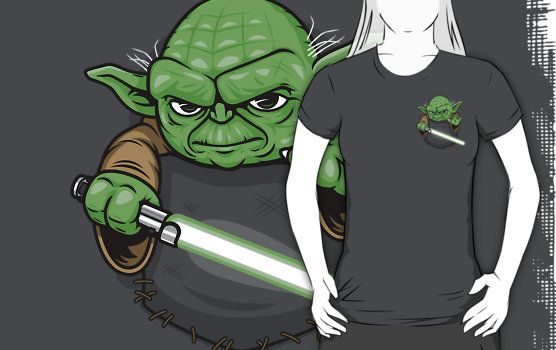 Pocket Yoda T Shirt