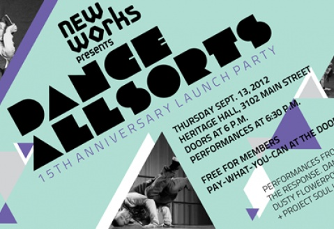 Join us for the Dance Allsorts 15th Anniversary Launch Party! | New Works