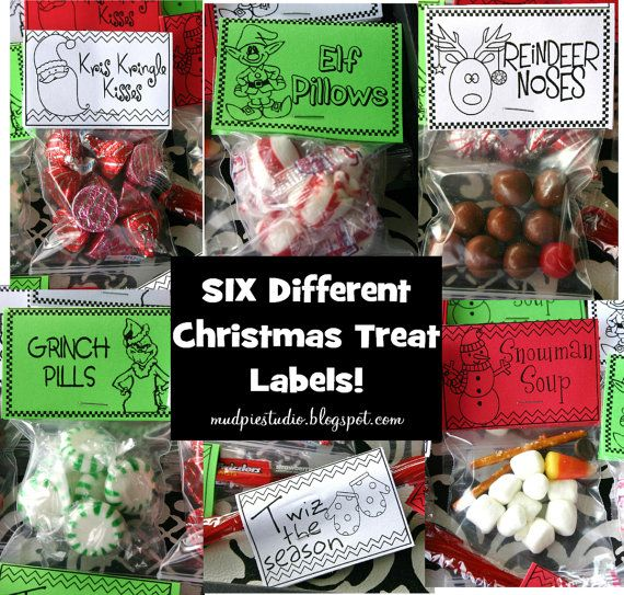 Christmas candy for kids classroom