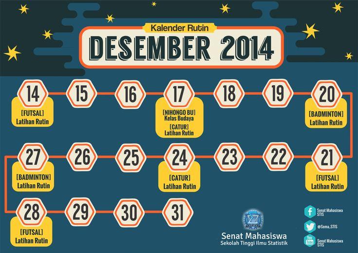 2014 Desember [Event Calendar Poster]