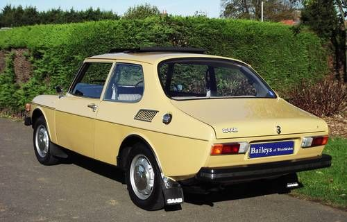 Saab 99 L 2 Door, 1 Previous Owner From New, A Very Rare Car For Sale (1972)