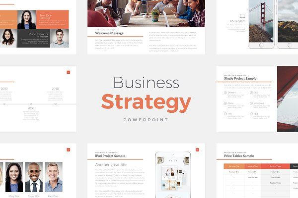 Business Strategy Deck PowerPoint - Presentations