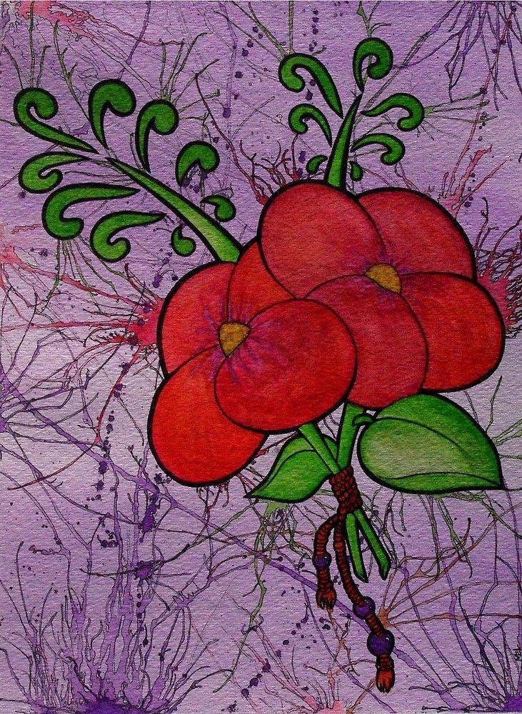 """Warm Flowers"" by bunnymel | Redbubble"