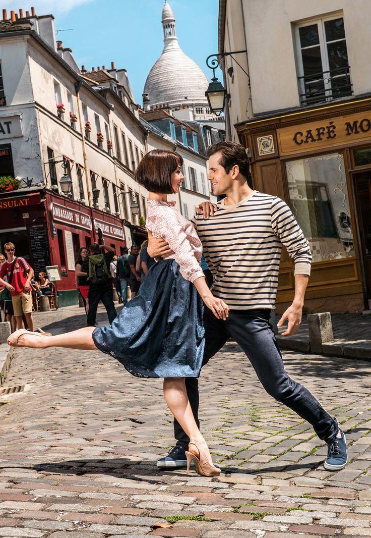 An American in Paris Un Américain à Paris Théâtre du Châtelet  Robert Fairchild and Leanne Cope  http://chatelet-theatre.com/fr/event/an-american-in-paris  #TheatreduChatelet #Broadway #AnAmericanInParis #UnAmericainAParis #GeorgesGershwin #IraGershwin #ChristopherWheeldon #RobertFairchild #LeanneCope #SWonderful #IGotRhythm #Paris #Musical #ComedieMusicale  #TimesSquare #NYC #NewYork #USA #France