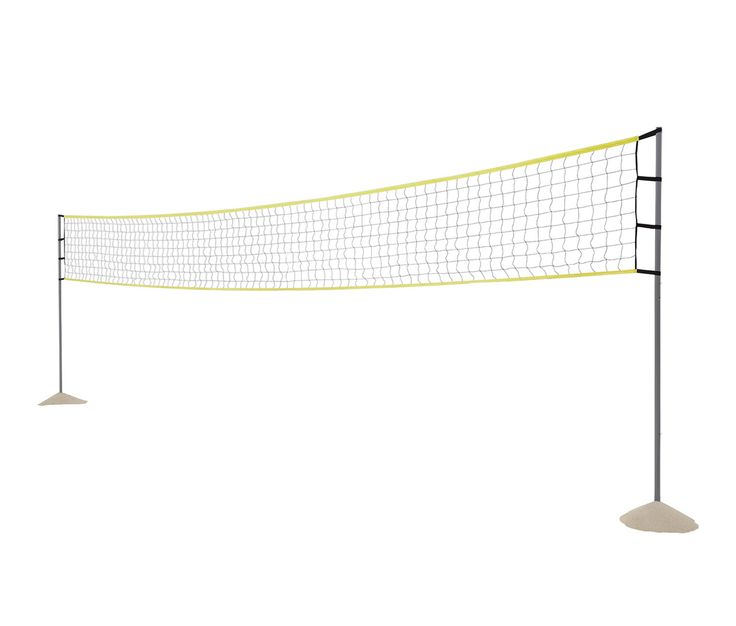 999 Kč | Spoustu písku, míč, spoluhráče a síť – to je vše, co na napínavý zápas v plážovém volejbalu potřebujete. S touto sítí na plážový volejbal máte rovnou postaráno i o vymezení hřiště. Snadno tak uvidíte, že míč spadl mimo hřiště.