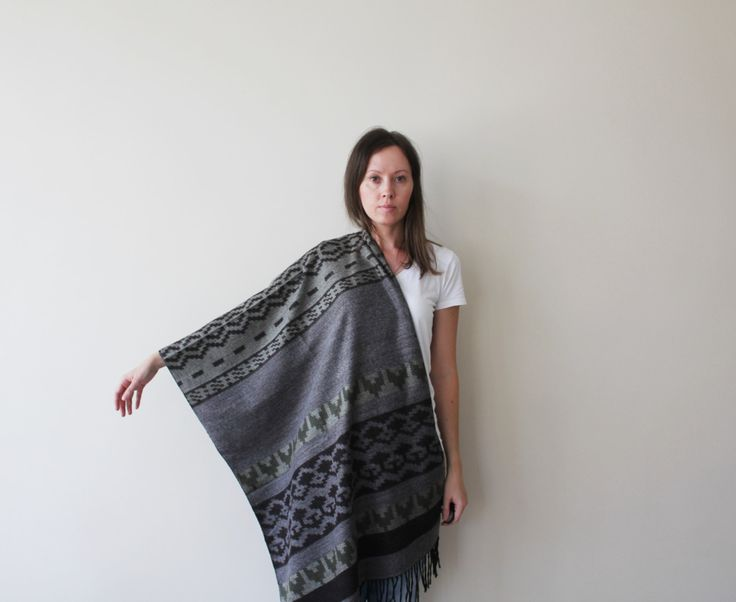 NEW Blanket Scarf Aztec Scarf Boho Tribal Scarf Men Women Scarf Warm Scarf Women Accessories Gift Ideas For Her For Him Christmas Gift by GaDeCreations on Etsy