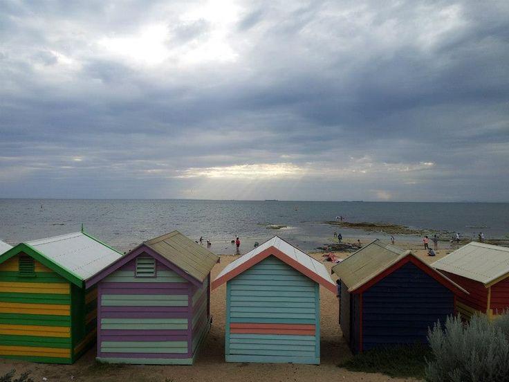 Taken at Brighton Beach, Melbourne, November 2012