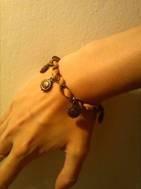 Diy trapillo bracelet,pulsera trapillo y soles