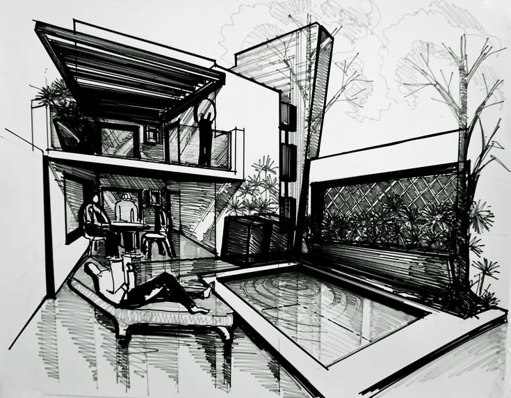Pin En Dibujos De Arquitectura