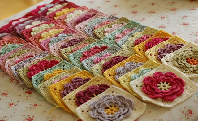 Serendipity Patch: Squares finally finished!