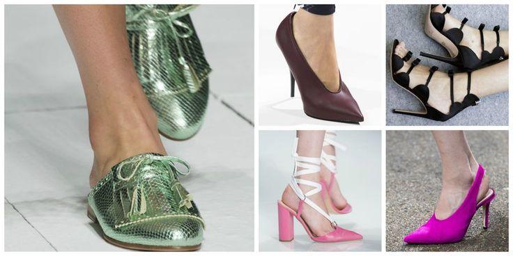 Modne buty [wiosna 2017], fot. Imaxtree, kolaż ELLE.pl