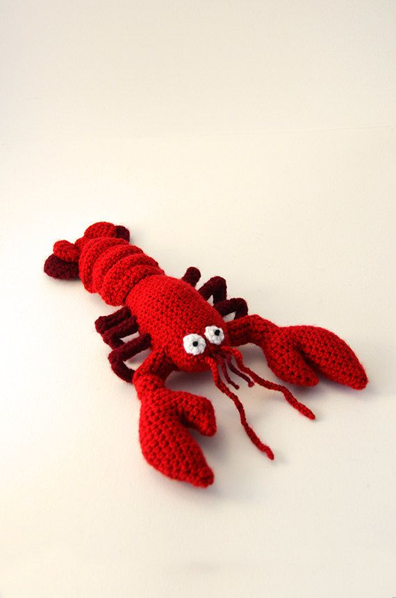 Lobster Crochet Pattern, Lobster Amigurumi Pattern ...