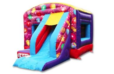 #bouncycastle #slide #partyideas #inflatable #sharkyandgeorge