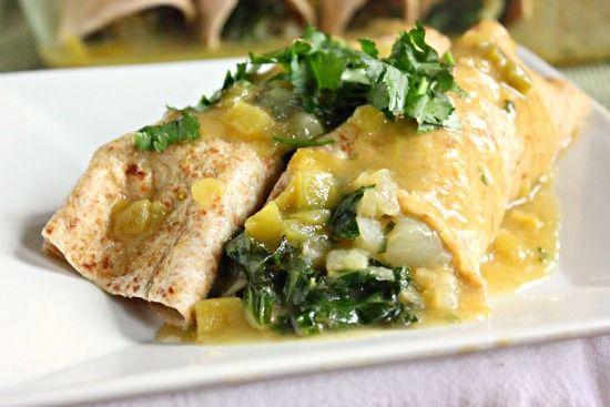 Potato and Kale Enchiladas (TNT) 07025cfa102955220f1c36b655712b0e