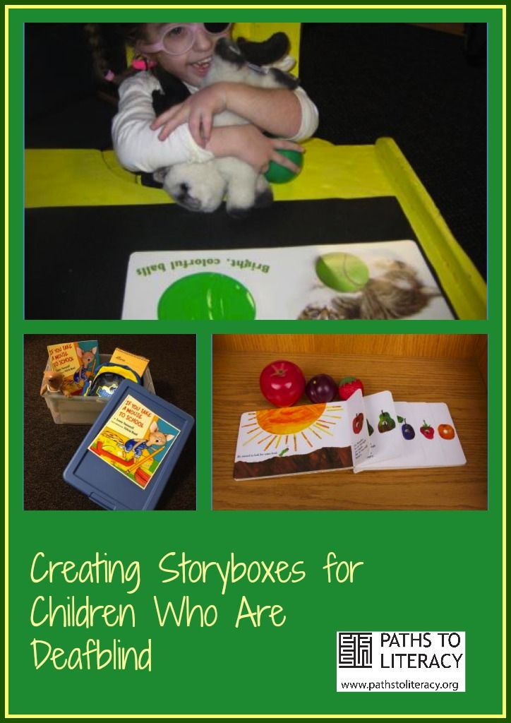 How to create story boxes for children who are deafblind