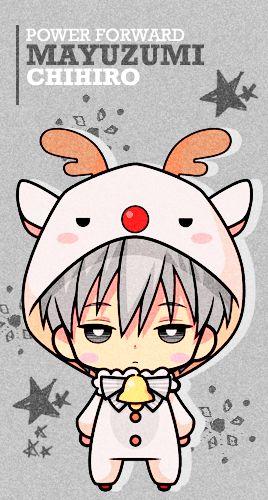 Mayuzumi Reindeer Chibi - Cuteeee >w<