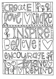 17 best images about coloring pages patterns on for Love one another coloring pages