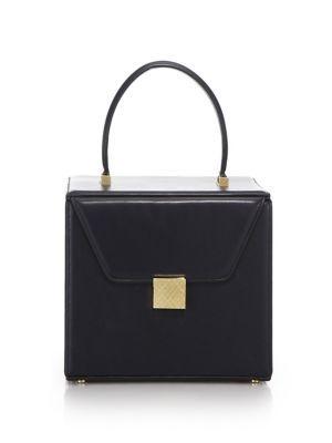 VICTORIA BECKHAM Leather Vanity Case. #victoriabeckham #bags #leather #