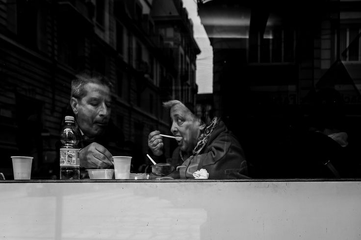 https://flic.kr/p/roMtZf | Food & Love (Milano in BW)