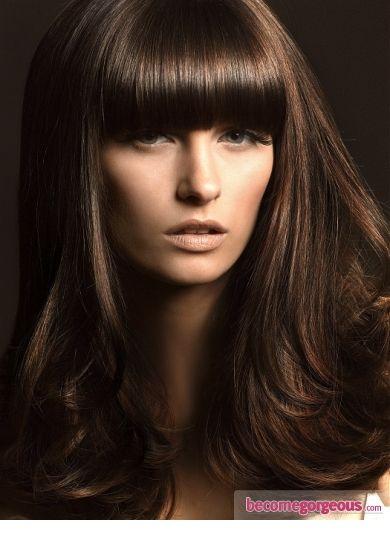 solid brunette rich color