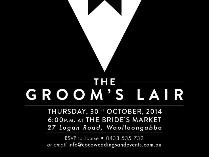 Our awesome Grooms evening organised by Coco Weddings and Events