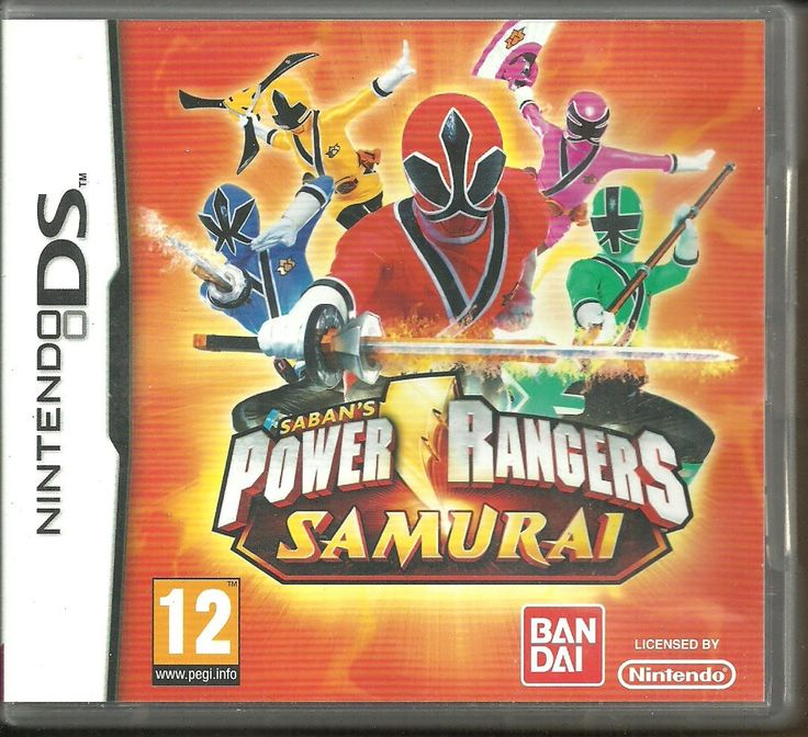 Nintendo DS game Saban's Power Rangers Samurai w Case & Manuals NTR-B3NP-EUR CAN$ 10.00 + shipping