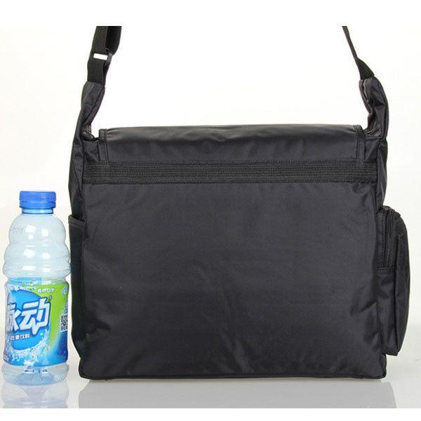 Waterproof Nylon Outdoor Sport Shoulder Bag Casual Small Travel Crossbody Bag For Men