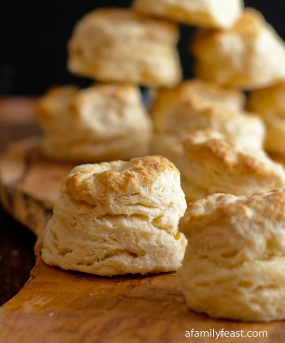 Sweet Buttermilk Biscuits - several of our readers have left comments stating that these are the best biscuits they've ever made!  Moist, light and flaky...these are the perfect biscuits!