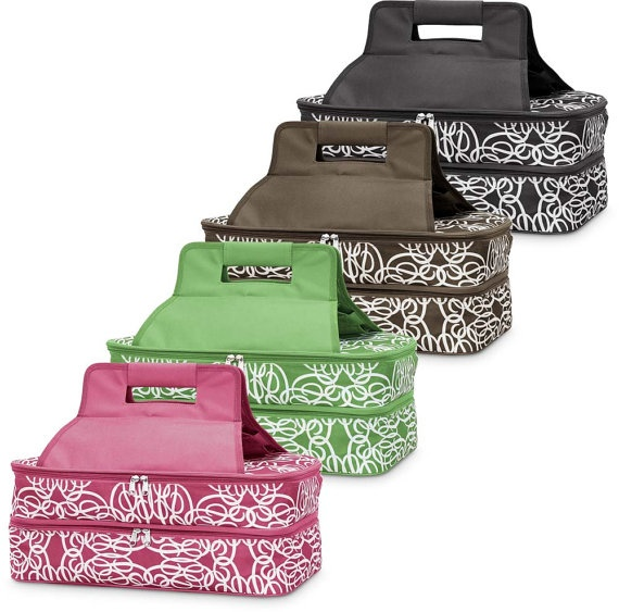 Embroidered Insulated Casserole Carrier in by NiftyNookEmbroidery, $42.00