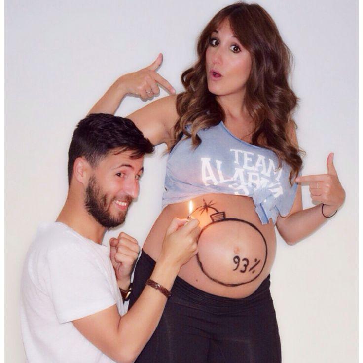 Ideas para anunciar la etapa final #pregnant #embarazo