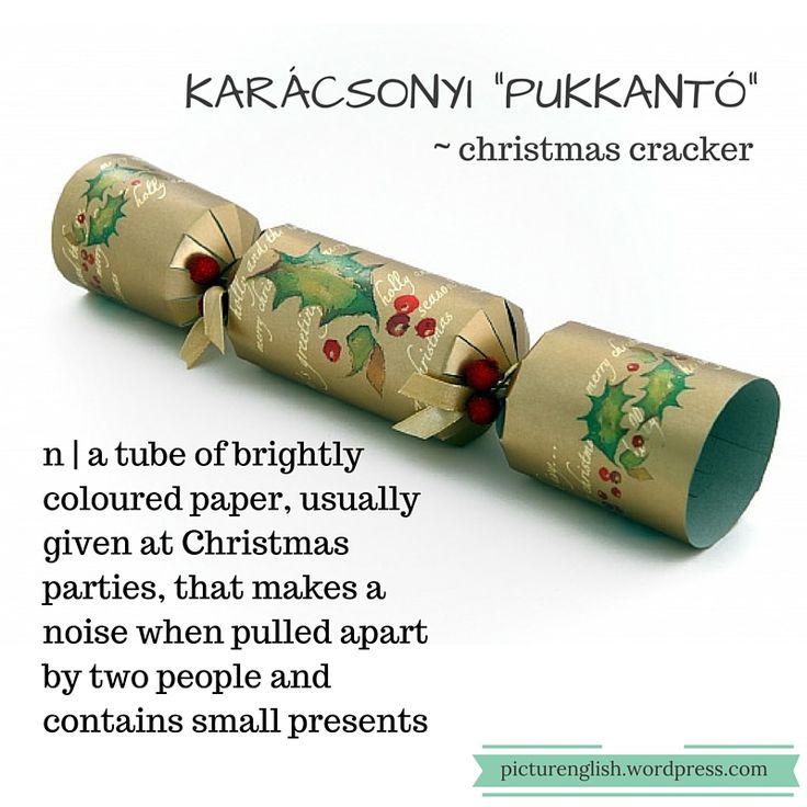 """Christmas cracker / Karácsonyi""""pukkantó"""""""