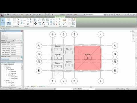 Revit MEP 2012 - Session 6 -Spaces.mp4 - YouTube