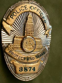1920s lapd badge - Google Search