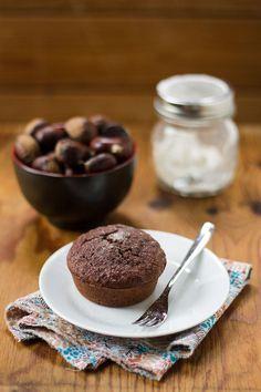 Tortina alle castagne mandorle e cacao