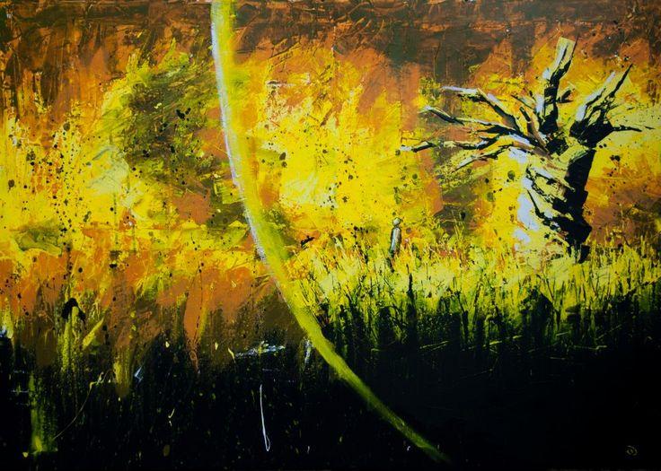 (Inside V) Last Man - Acrylic on canvas (70 x 100cm)
