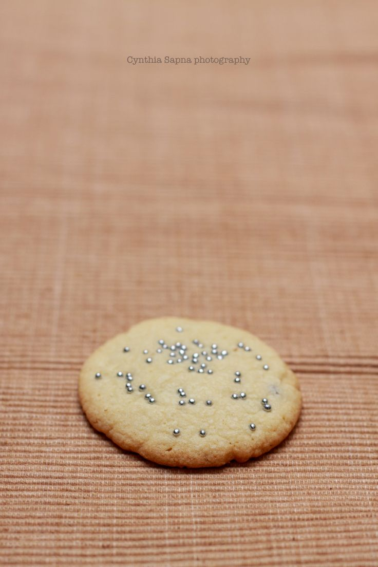 Chocolate chip cookie with sprinkles!