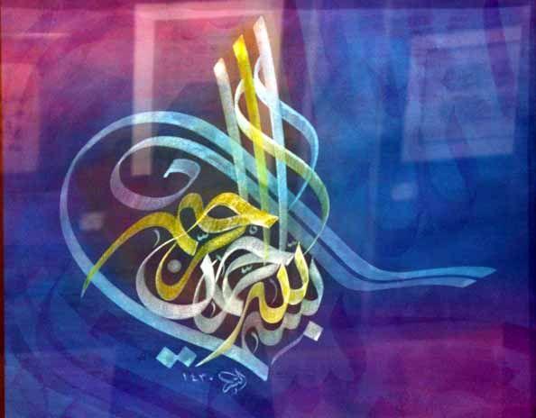 الخطاط السوداني تاج السر حسن سيد احمد - شبكة المبدعين