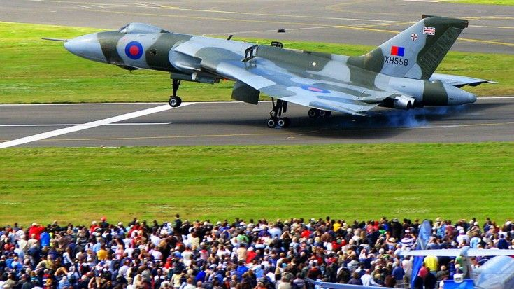 This Vulcan Flight Brought Everyone To Tears
